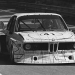 BMW CSL Turbo Gruppe 5 in Le Mans 1976 mit Peter Gregg