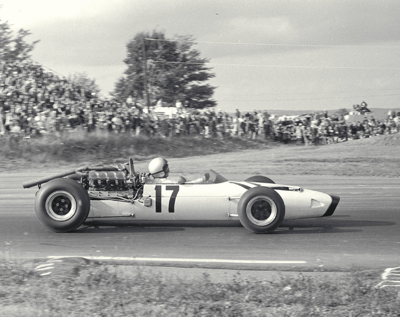 Der McLaren-Ford in Mexiko 1966